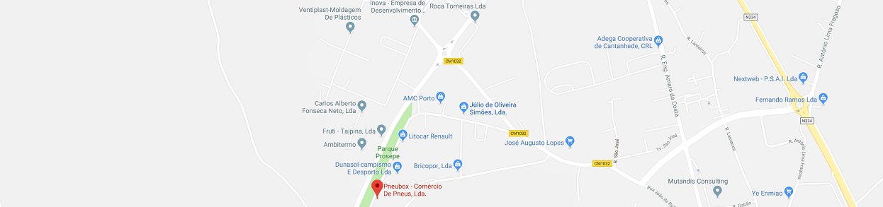 Mapa - Pneubox